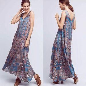 Anthropologie Hemant & Nandita Zarna Maxi Dress